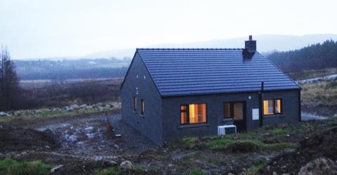 ECOhome in County Mayo, Northern Ireland