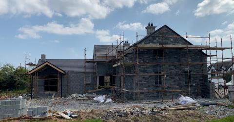 new build eco home